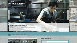 chefbeverlykim.com screenshot